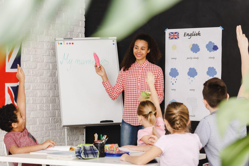 cours anglais enfants mercredi